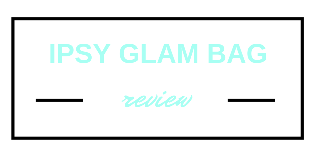 I've been receiving the Ipsy Glam Bag for a few months now, and couldn't be happier with the products I've received! Check out my review here!
