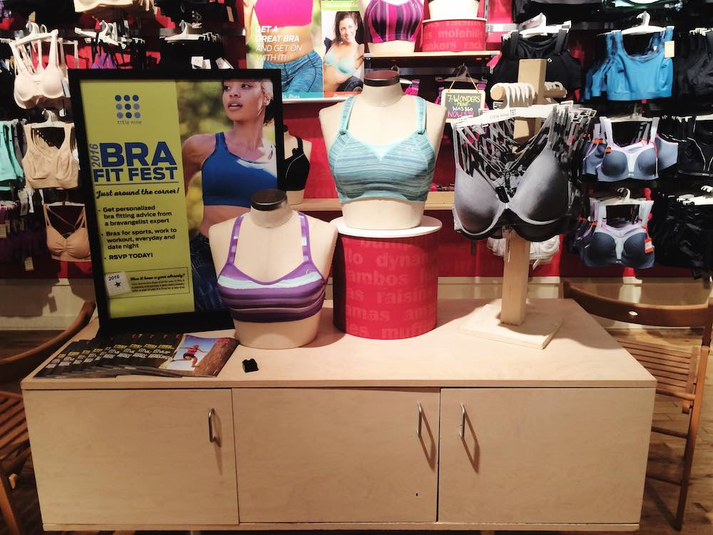 Let the bravangelists at Title Nine help you find your fit at the 2016 #T9FitFest! Enter here to win a free sports bra and fitting!