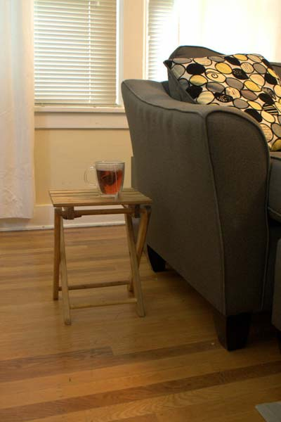 DIY Urban Outfitters side table