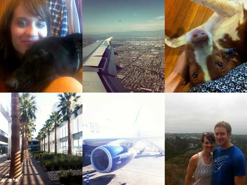 LA visit