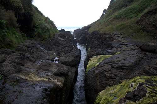 Oregon Coast Camping - Cape Perpetua - Devil's Churn