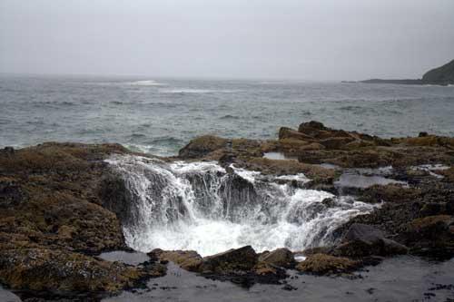 Oregon Coast Camping - Cape Perpetua - Thor's Well